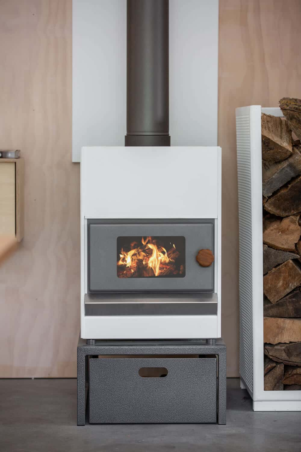Pyroclassic Fire - Flat White Colour - Front