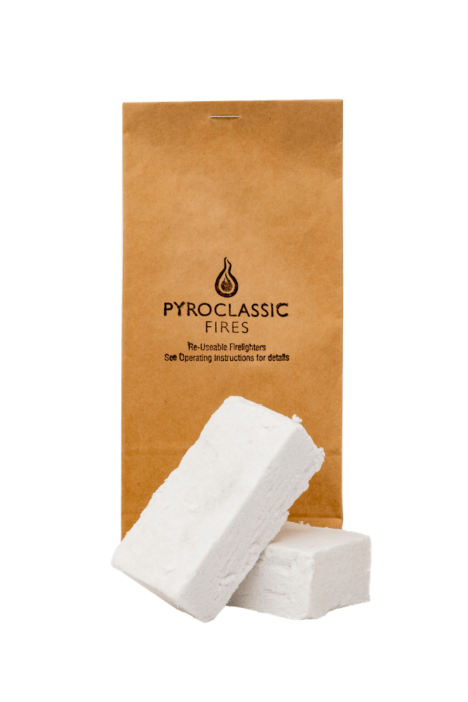 Pyroclassic Re-usable Firelighters