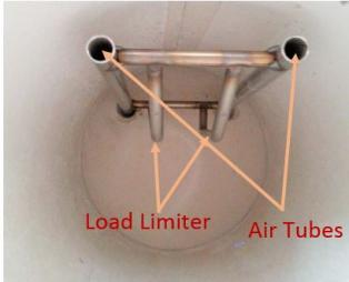 Photo of Load Limiter and Air Tubes
